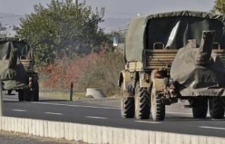 Suriye sınırına havan sevkiyatı