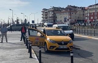 Taksiciye saldırı