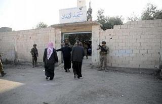 Tel Abyad'da şehitler için mevlit okutuldu, kan...