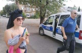 Yer: Antalya... Mahalleli ve polisi çileden çıkardı!.....