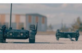 Mini askerler göreve hazırlanıyor