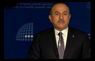 Çavuşoğlu'ndan Libya açıklaması