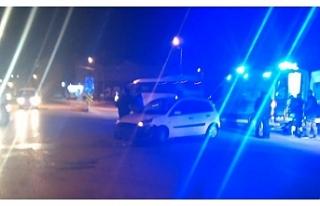 Bursa'da motosiklet sürücüsü ölümden döndü