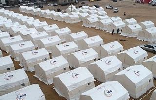 Depremzedeler için 100 milyona yakın yardım toplandı