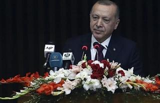 Erdoğan: Barış planı değil bir işgal projesidir