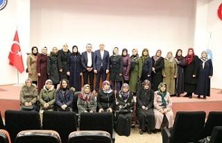 Kadın üreticilerden Marmarabirlik'e ziyaret