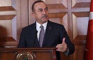 Bakan Çavuşoğlu'ndan kahreden haber!