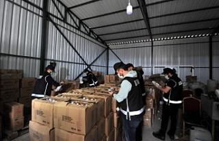 Bursa'da kaçak üretilen 20 ton dezenfektan...