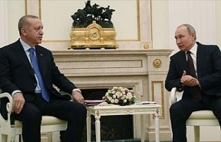 Erdoğan ve Putin bir araya geldi!