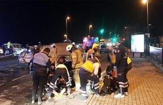 Fatih'te feci kazada can pazarı!