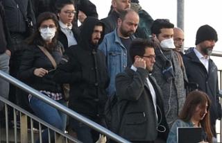 Toplu taşımada maske önlemi