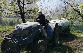 Bursa'da yasaktan muaf olan çiftçiler, işlerinin...