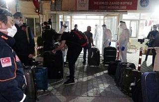 Yurt dışından getirilen 252 Türk vatandaşı daha...