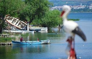 Gölyazı'da koronavirüs sessizliği