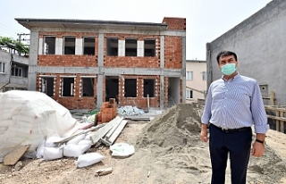 Osmangazi'den Deryanur Camii'ne Yakışacak Hizmet