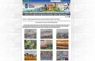 Sanatçıların eserleri Belediyenin internet sitesinde...