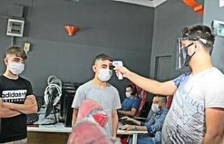 Diyarbakır'daki internet kafeler, koronavirüs...