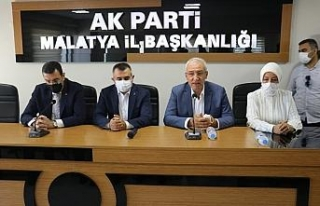 AK Parti Malatya İl Başkanlığında bayramlaşma...