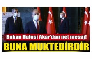 Bakan Akar: Türk Silahlı Kuvvetleri vatanımızı...