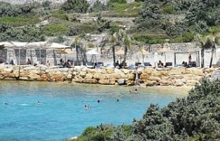 Sosyal mesafeye uyulmayan beach cluba para cezası