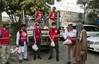 Türk Kızılay, Afganistan'daki 12 bin aileye kurban...