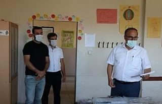 Alagöz, Sincik'te ki okulların durumunu yerinde...
