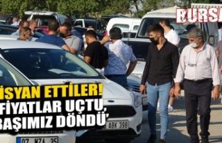 "Bursa'da 2'inci el oto isyanı: ""Fiyatlar..."