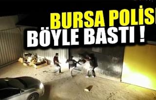 Bursa'da uyuşturucu serasına dönüştürülen...