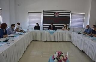 Edirne'de Covid-19 tedbirleri konuşuldu