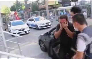 Şişli'de yabancı uyruklu kadını otomobilden...
