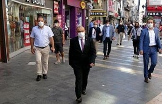 Trabzon'da Vali Ustaoğlu'ndan koronavirüs...