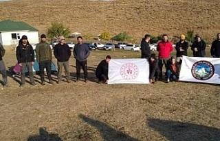 Bingöl'de doğaseverler 2 bin rakımda kamp yaptı