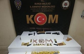 Bursa'da silahlı örgüt kurma ve yaralama suçundan...