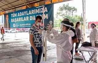 Büyükşehir Belediyesi İtfaiye Eri sınavlarına...