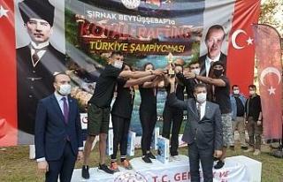 Çukurca Zap rafting takımı Türkiye 2'ncisi