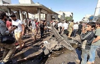 El Bab'da bomba yüklü kamyonla terör saldırısı:...