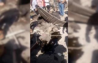 El-Bab'da bomba yüklü araç patladı. En az 7...