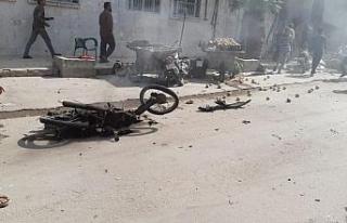 El Bab'ta bomba yüklü araç patladı : 15 ölü...