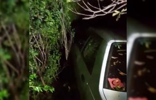 El frenini çekmeyi unuttuğu otomobil 150 metreden...