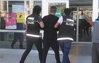 Elazığ'da polisin şüphelendiği şahıstan,...
