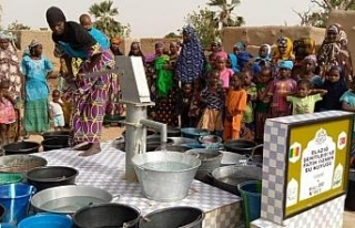 Elazığ'dan şehitler adına Mali'de su kuyusu...