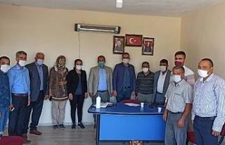 Erdoğan'ı karşılamak için AK Parti Arguvan'da...