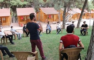 Gaziantep'te gençlerle hasbihal etkinliği