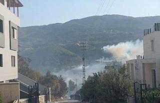 Hatay'da orman yangını, yerleşim yerlerine...