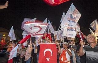 KKTC'nin yeni Cumhurbaşkanı Ersin Tatar'dan...