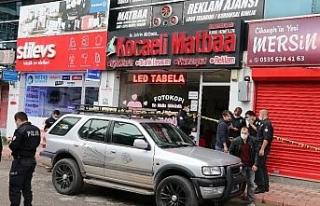 Matbaa işletmecisi iş yerinde silahlı saldırıda...