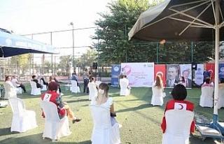 Mersin'de 'meme kanserine karşı farkındalık'...