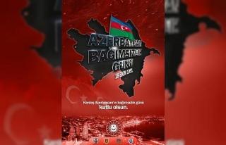 MSB'den Azerbaycan Bağımsızlık Günü paylaşımı
