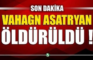 Paşinyan duyurdu: Vahagn Asatryan öldürüldü