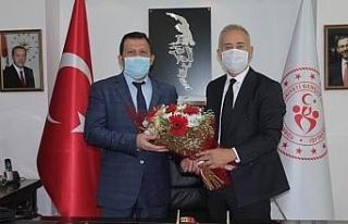Soykarcı'dan, Gençlik ve Spor İl Müdürü Kabakcı'ya...